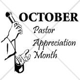 October Pastor Appreciation Email Salutation