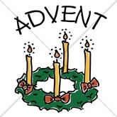 Christmas Advent Wreath Email Salutation