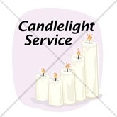 Christmas Candlelight Email Salutation
