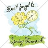 Spring Forward Email Salutation