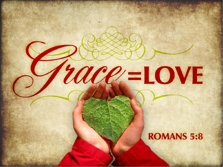 Love Grace Valentines Day PowerPoint Template