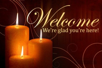Candle Welcome Video Splash Screen