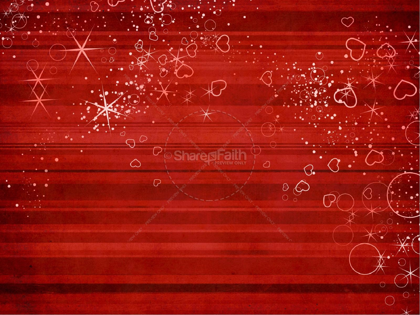Great Love Valentines Day PowerPoint Template