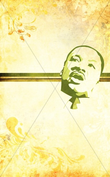 Martin Luther King Picture Bulletin Cover