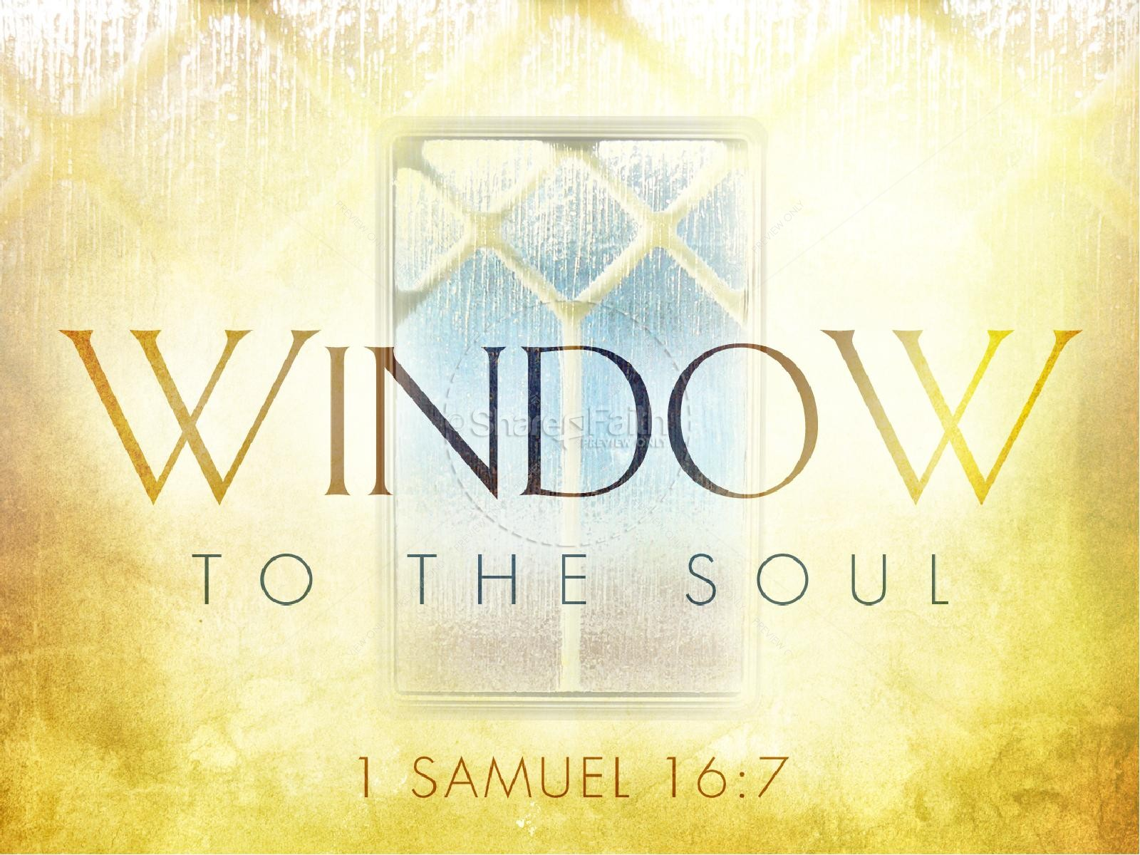 Soul Window PowerPoint