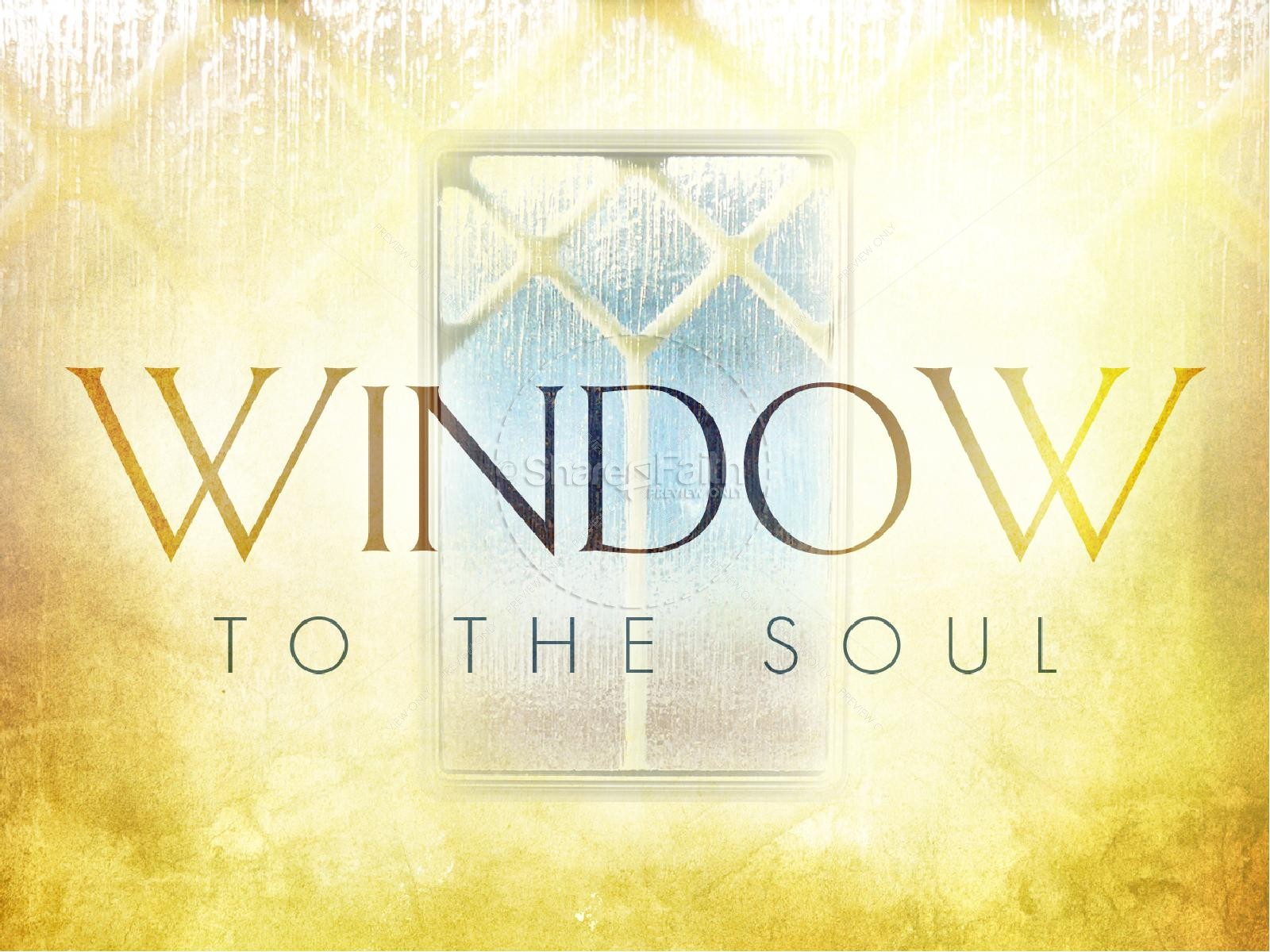 Soul Window PowerPoint | slide 2