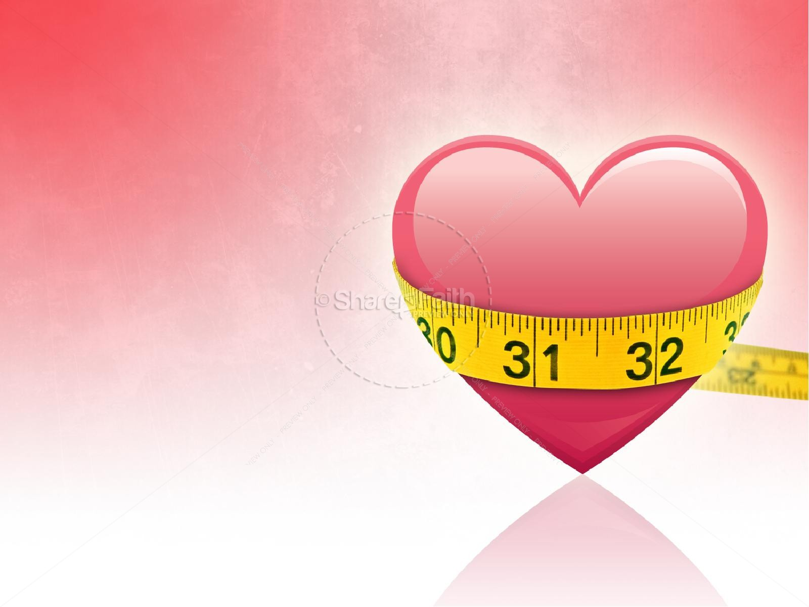 The Measure of Love Valentines Day PowerPoint