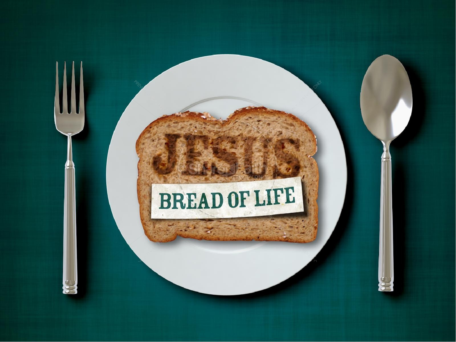 Passover Bread Church PowerPoint