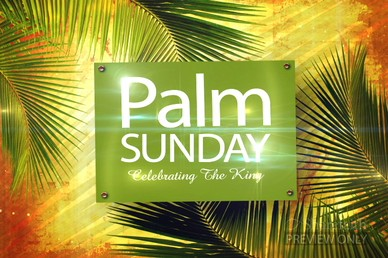 Palm Sunday Video Loop