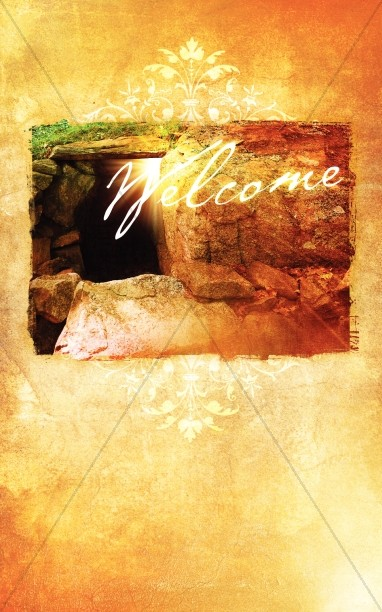 Empty Tomb Bulletin Cover Easter