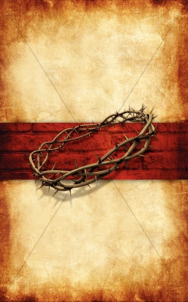 Jesus Crucifixion Church Bulletin Cover