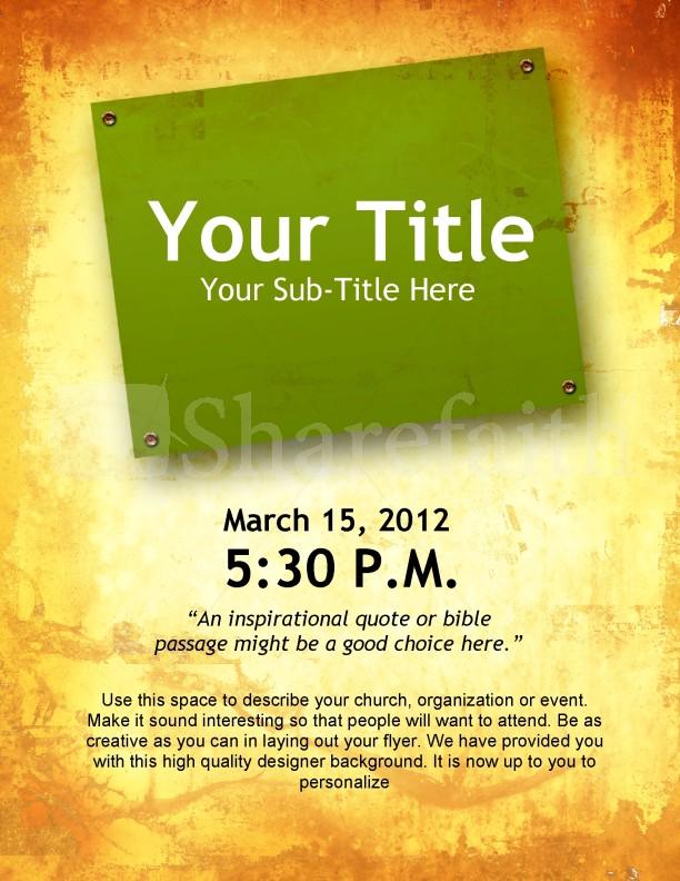 Resurrection Sunday Flyer