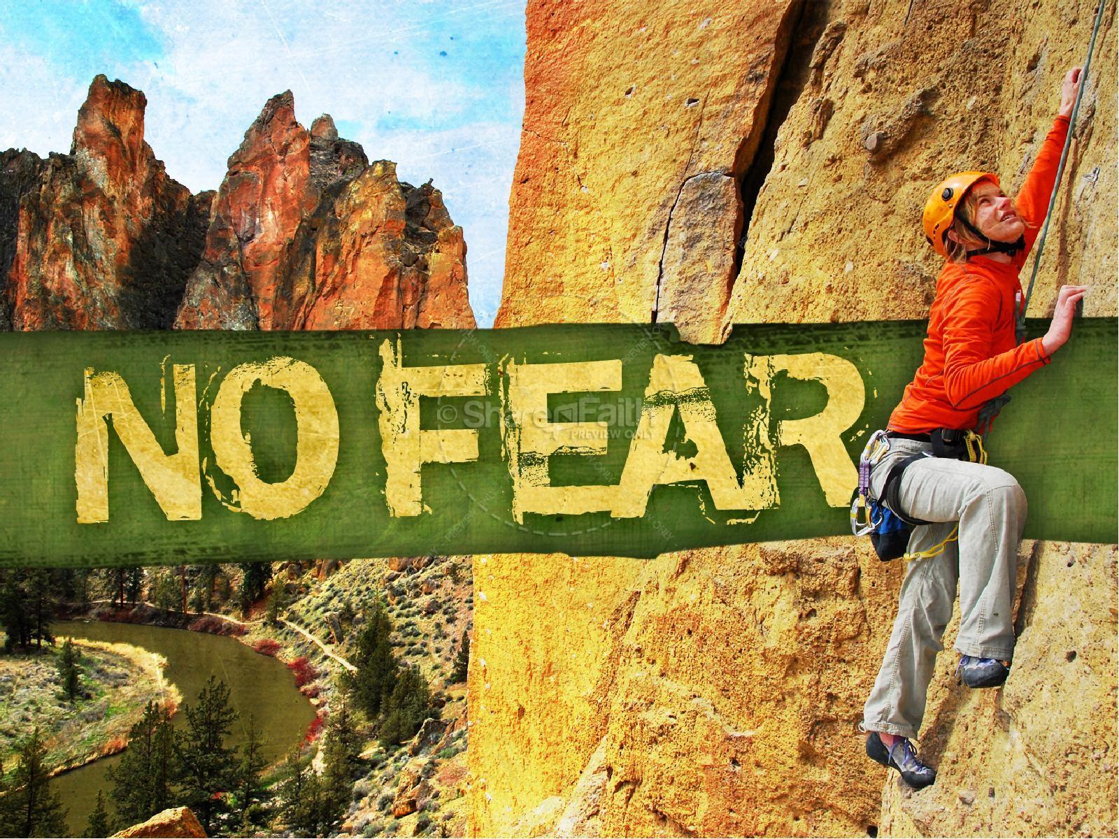No Fear PowerPoint Sermon | slide 2