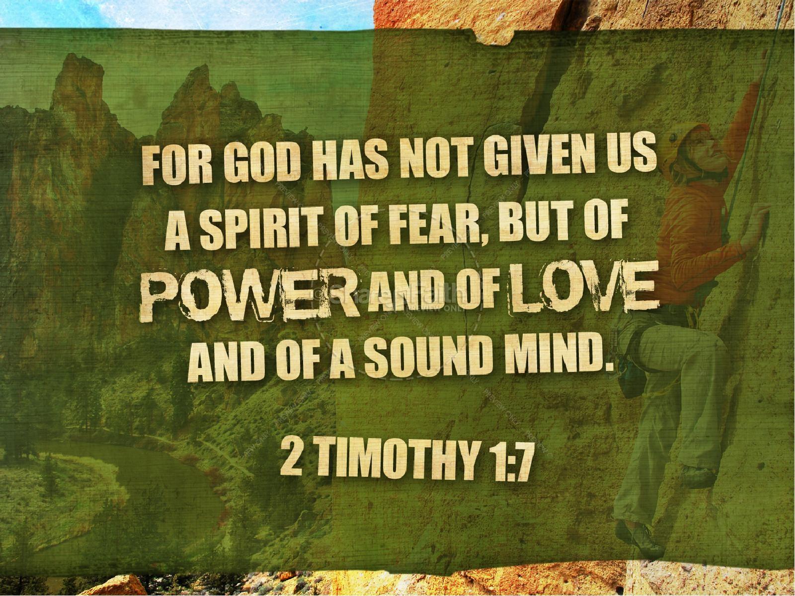 No Fear PowerPoint Sermon | slide 4