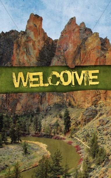 Mountain Creation Church Bulletin Cover