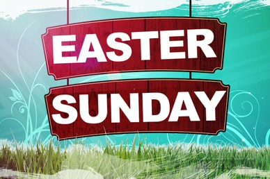 Easter Sunday Video Loop