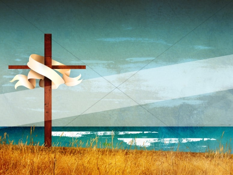 Easter Christian Cross Wallpaper Background