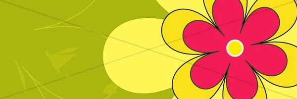 Flower Happy Mothers Day Email Banner