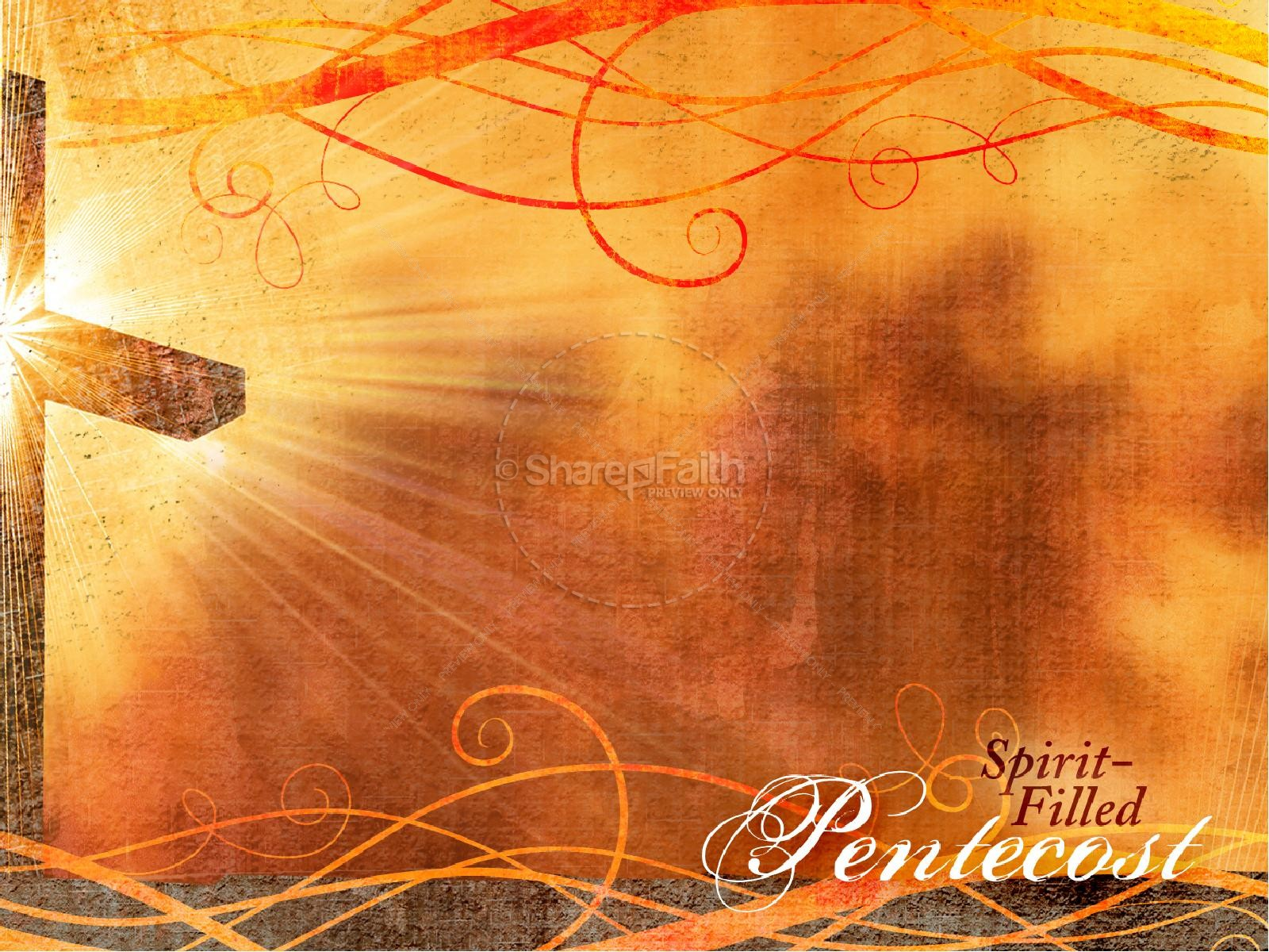 Pentecost Sunday PowerPoint Template