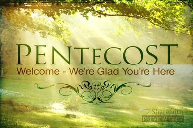 Day of Pentecost Video Loop