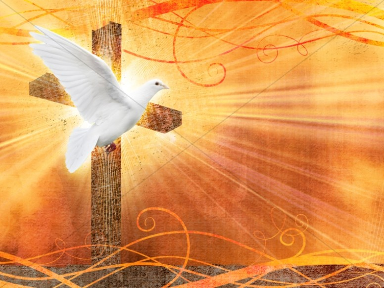 Holy Spirit Worship Background