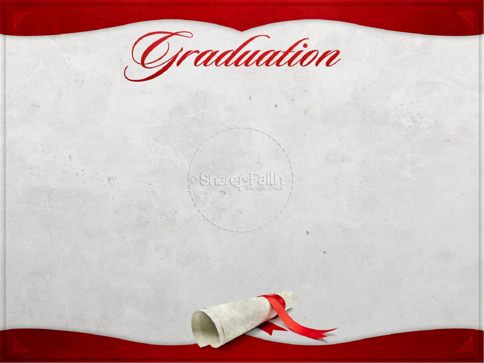 Graduation PowerPoint Template | Graduation Day PowerPoints