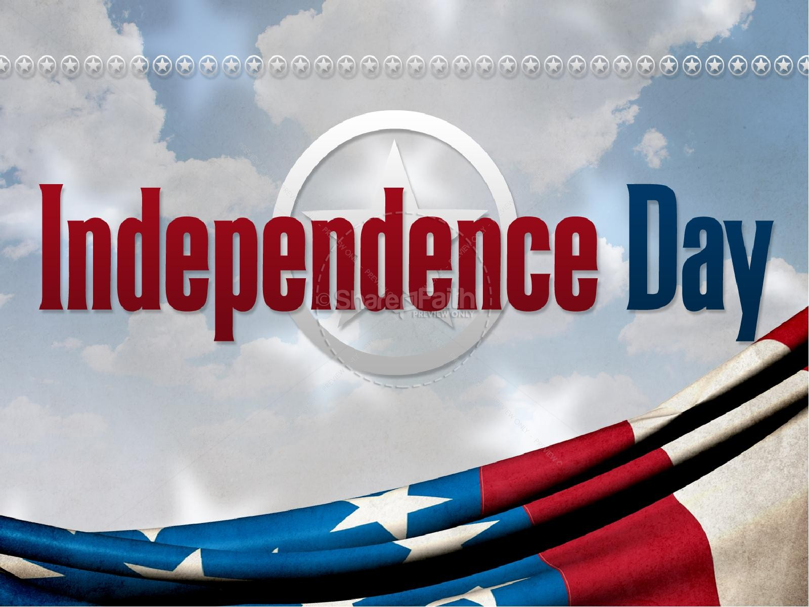 Independence Day PowerPoint Design | slide 2