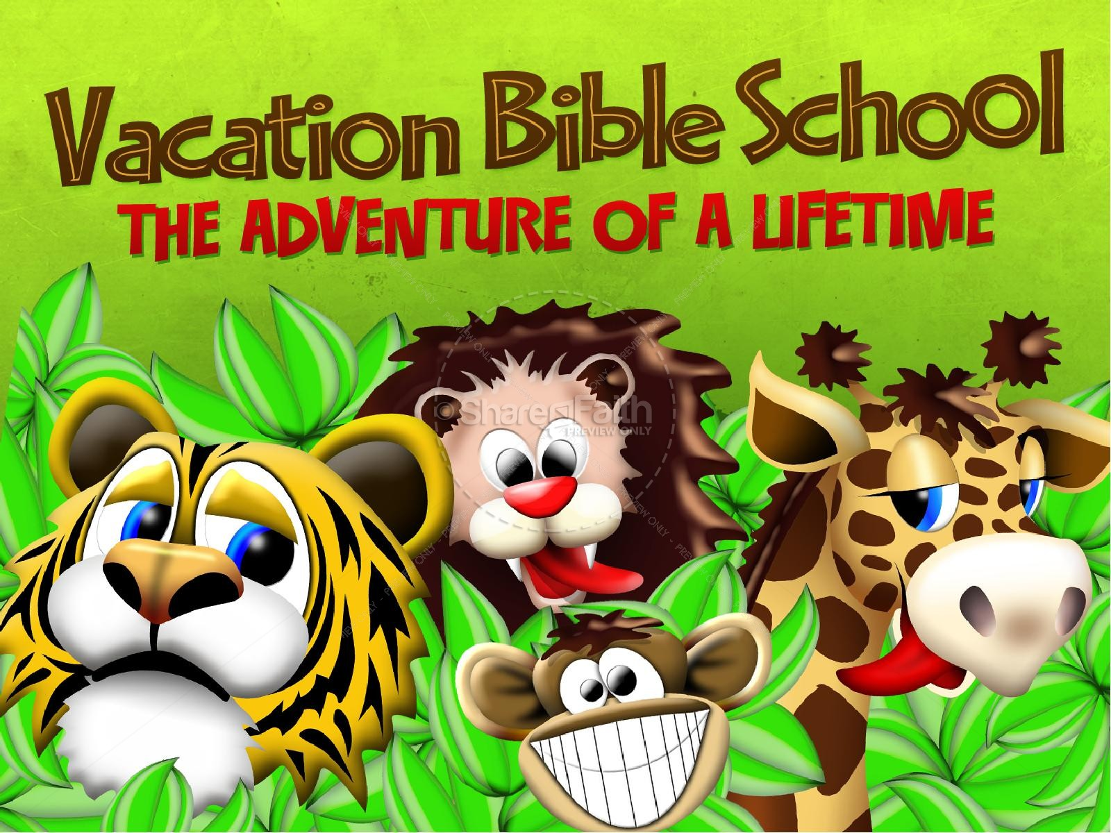 Vacation Bible School PowerPoint | slide 1