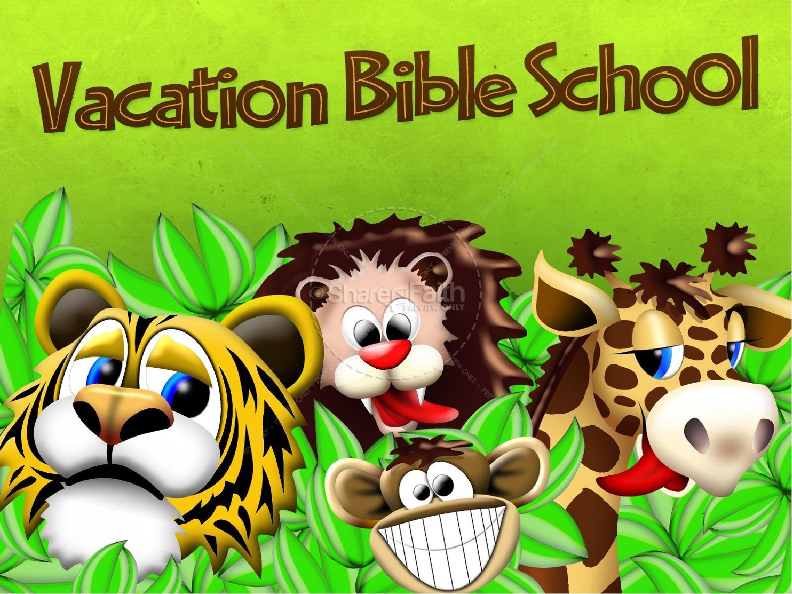 Vacation Bible School PowerPoint | slide 2