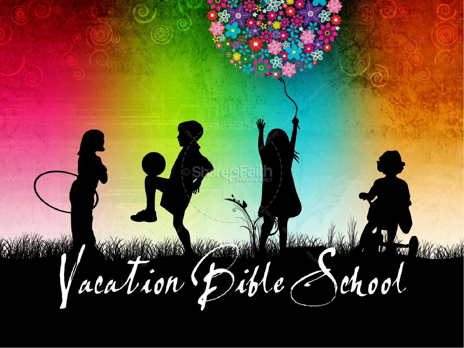 Vacation Bible School Church PowerPoint