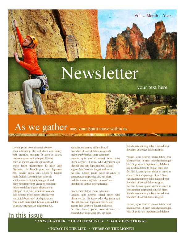 Camp Church Newsletter