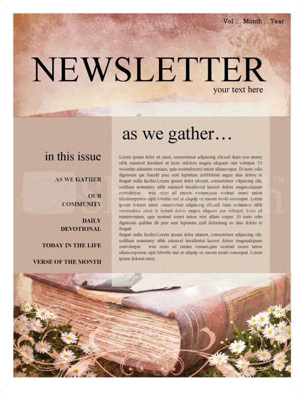 Scripture Church Newsletter