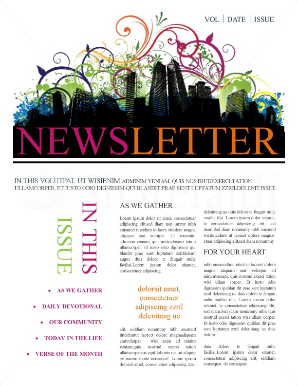Newsletter Templates | page 1