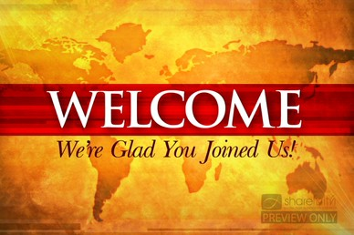 Welcome Worship Video Backgrounds