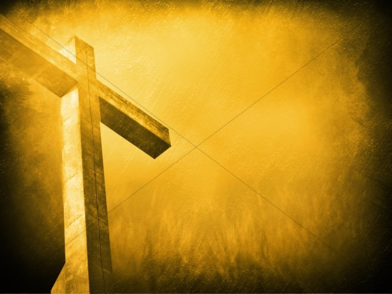 Jesus Cross Worship Background
