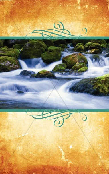 Nature Scenery Bulletin Cover