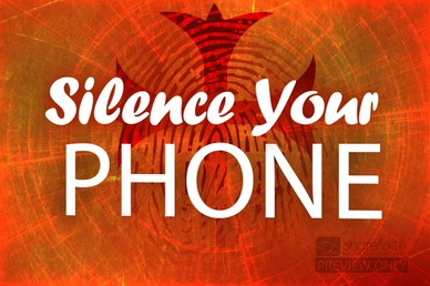 Silence Phone Video Loop