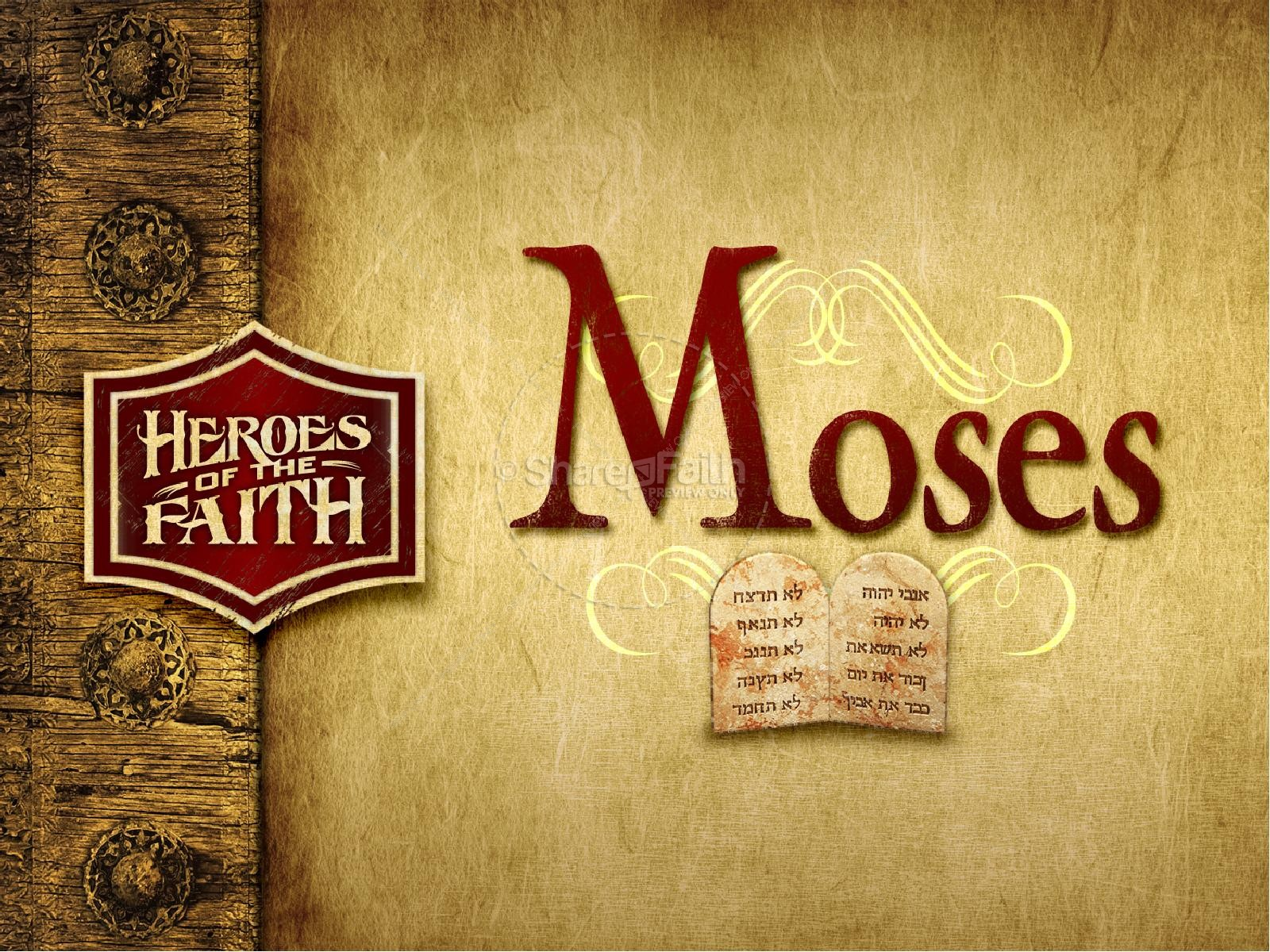 Moses PowerPoint Template