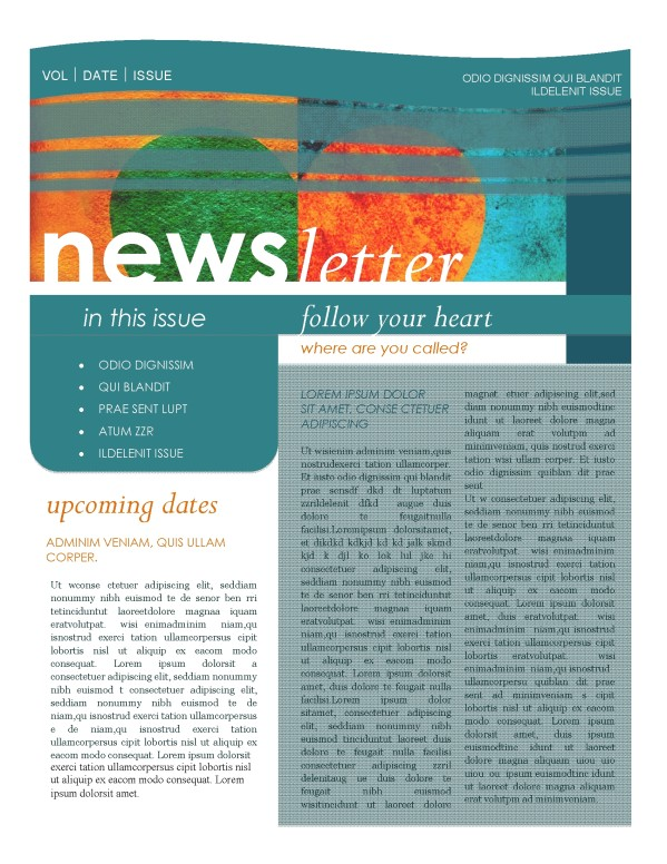 Contemporary Newsletter