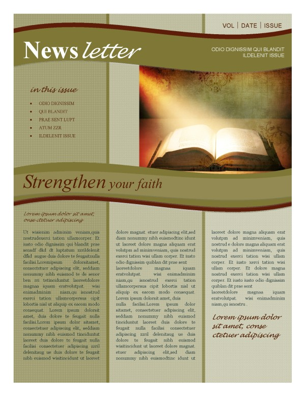 Bible Newsletter