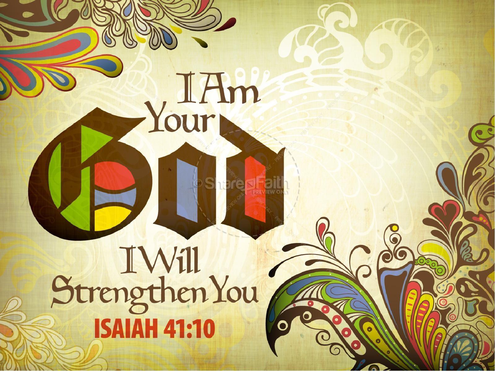Isaiah 41 PowerPoint Sermon | slide 1