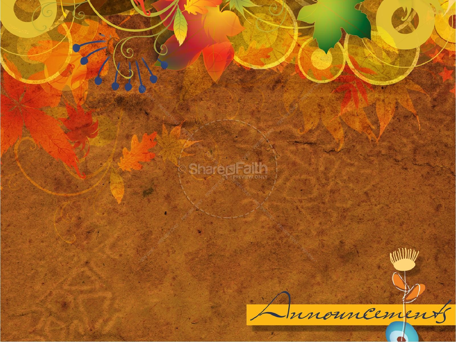 Fall Colors PowerPoint