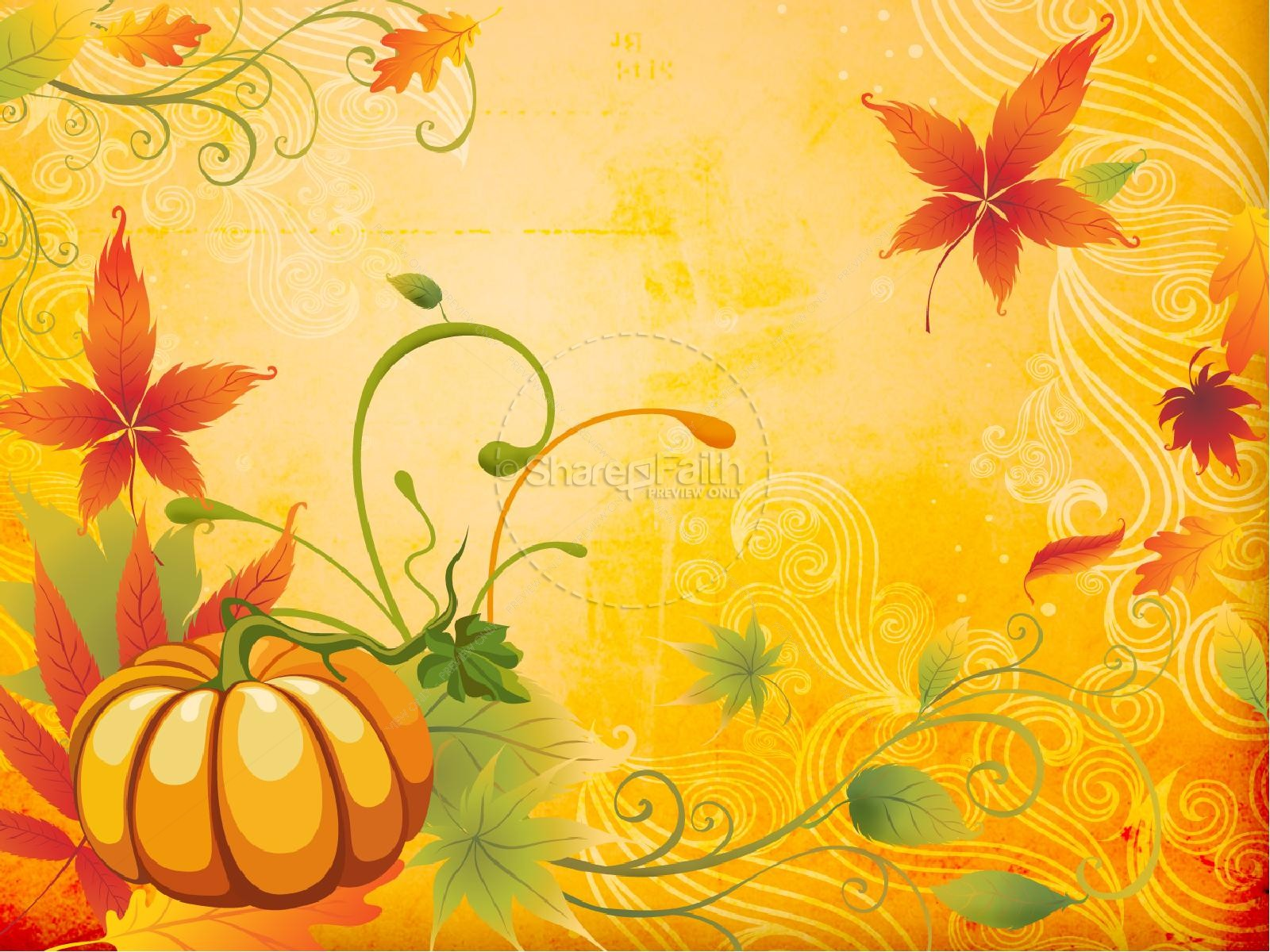 Happy Fall PowerPoint Template