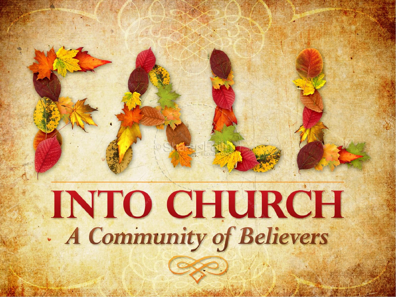 church community autumn powerpoint fall thanksgiving powerpoints