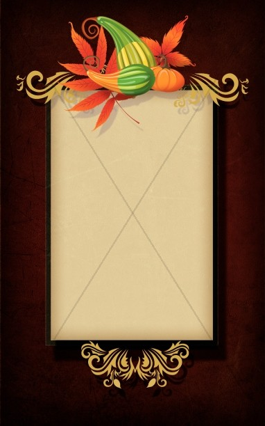 Give Thanks Bulletin Cover