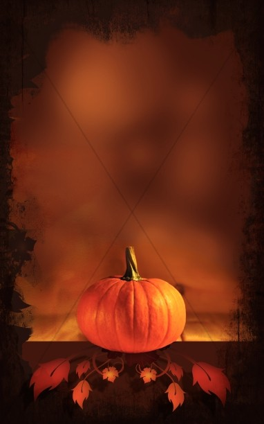 Pumpkin Picture Bulletin Cover