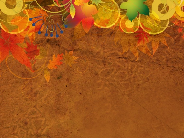 Thanksgiving Harvest Worship Background