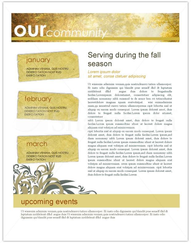Autumn Leaves Newsletter