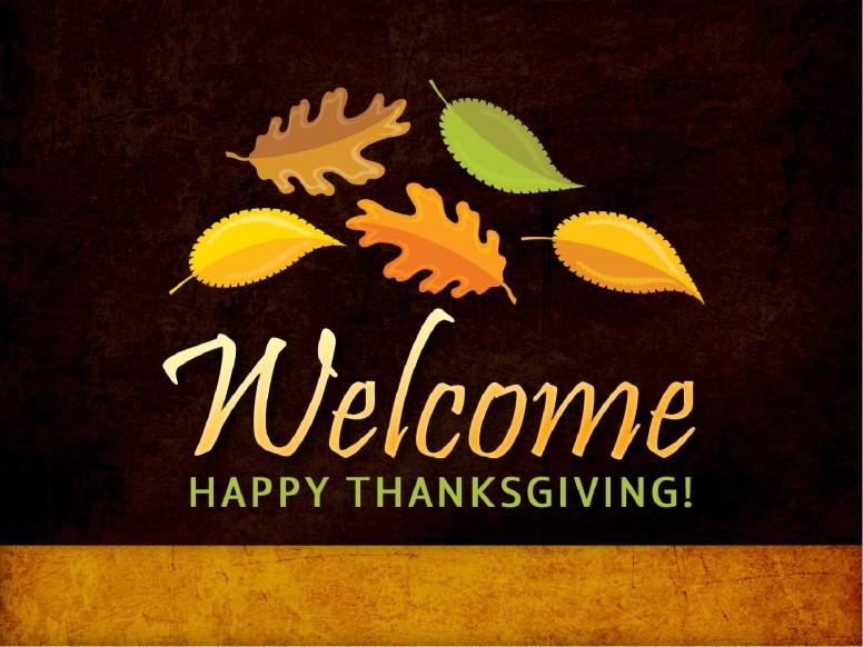 Leaves Falling Thanksgiving PowerPoint Sermon