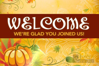 Thanksgiving Celebration Welcome Video Loop